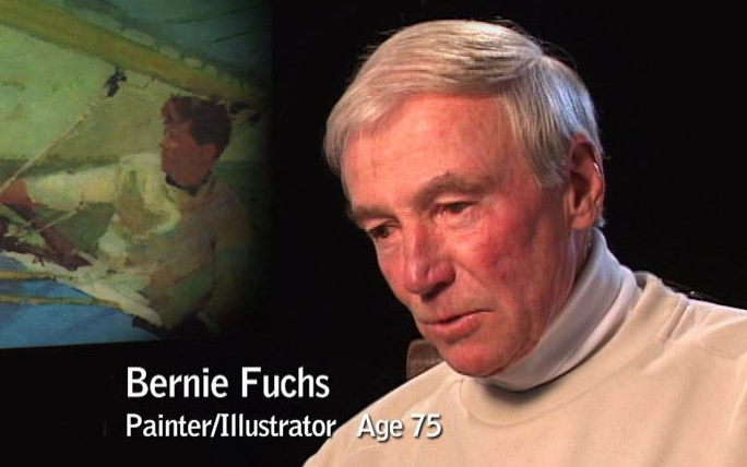 Painter and illustrator, Bernie Fuchs, talks about his career in Years in the Making.