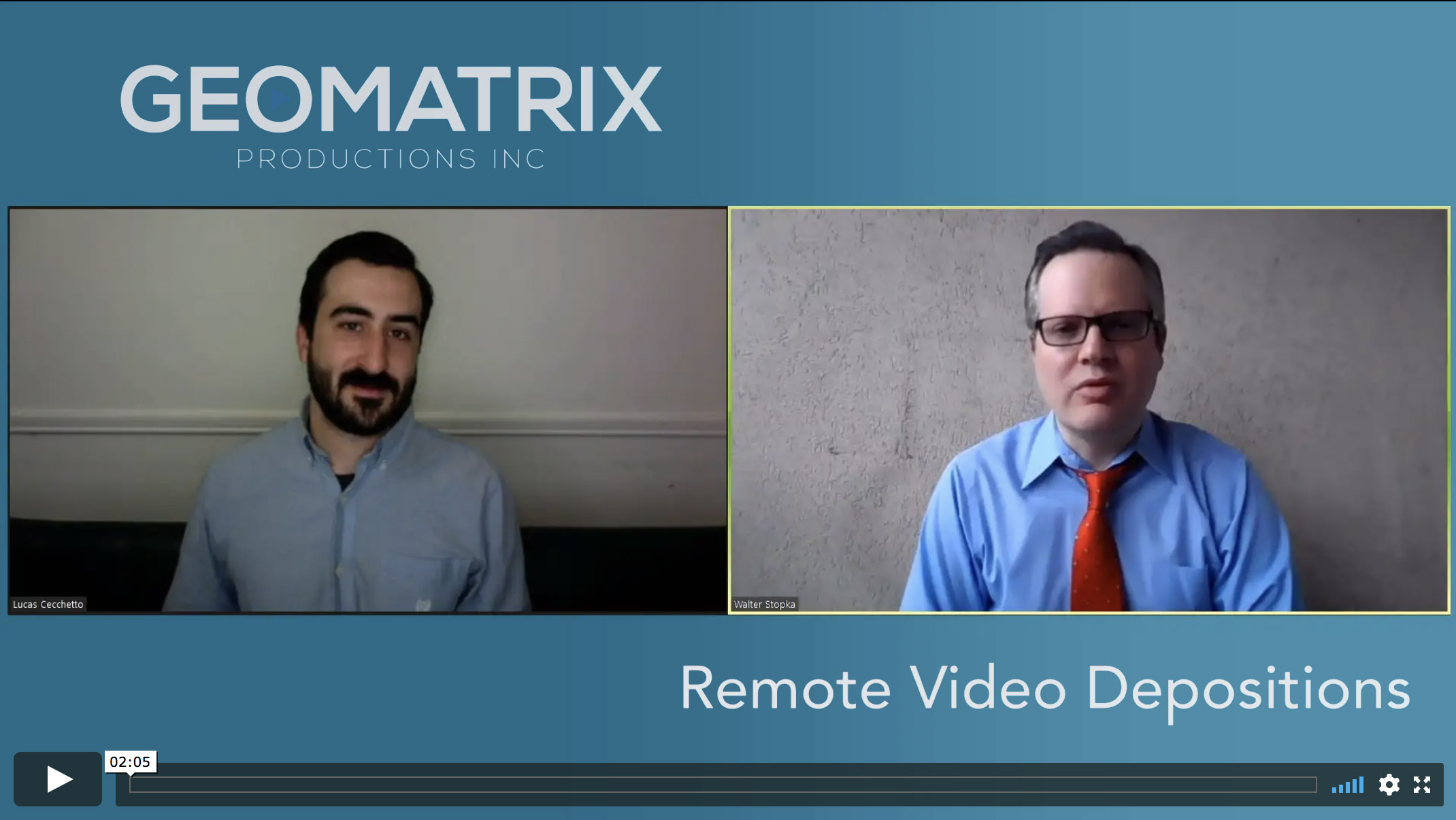 Video Production Tips From Geomatrix